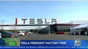 The EPA and Tesla Settle For Violations at Fremont CA. Plant