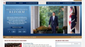 WhiteHouse.gov from Oct 14, 2009