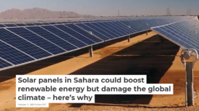 How Much do Solar Panels Heat Up the Earth